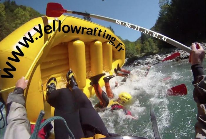 Peak Transfer recommends Water Sports in Chamonix with Yellow Rafting