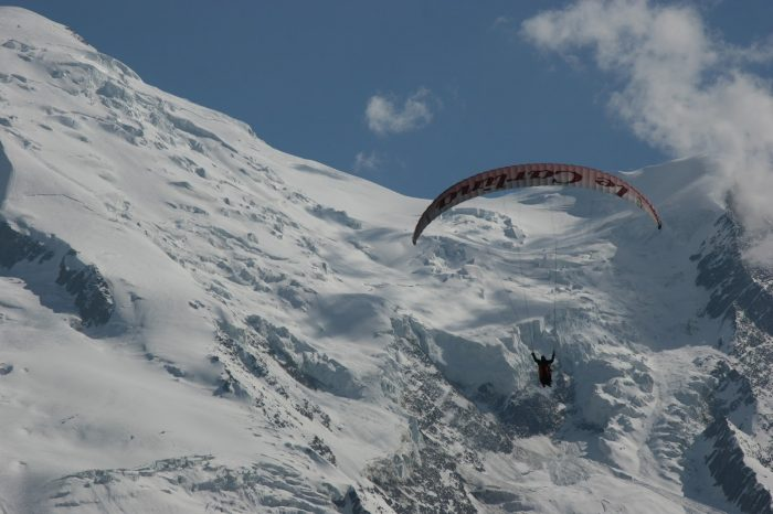 Air Sports Chamonix Mont Blanc Paragliding in partnerhip with Peak Transfer