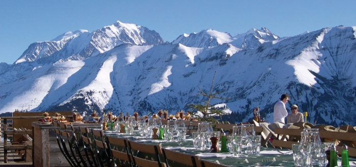 Best Mountain Resturants in Megeve