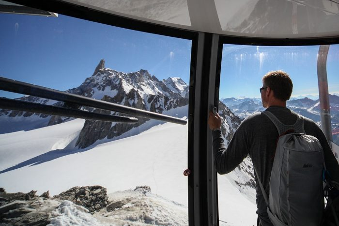 Skyway Monte Bianco has Fantastic Views from Courmayeur this Summer